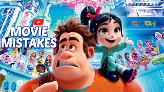 Ralph Breaks the Internet Movie Mistakes You Missed | Disney Wreck-It Ralph 2 Goofs