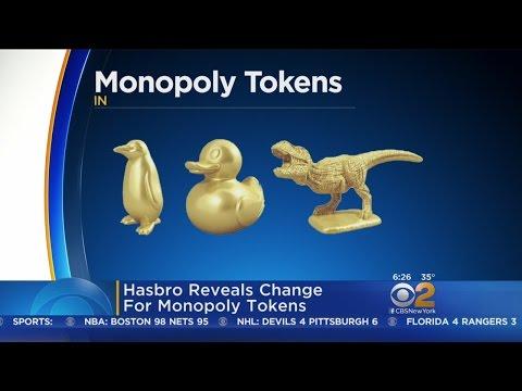 Hasbro Reveals New Monopoly Tokens