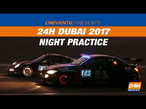 Hankook 24H DUBAI 2017 Night practice
