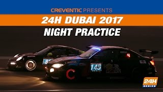 Hankook 24H DUBAI 2017 Night practice
