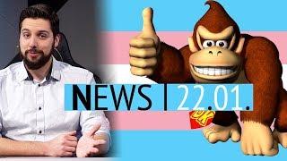 Donkey-Kong-Marathon sammelt 340.000 Dollar ein - Anthem-Demo anders als Vollversion - News