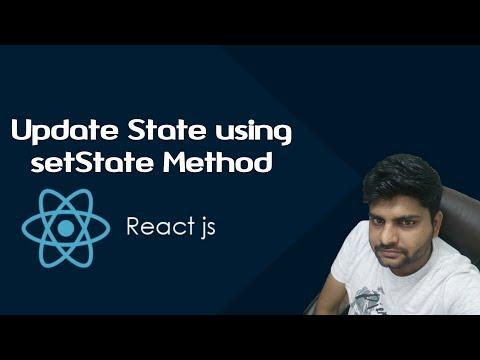 ReactJS Tutorials in Hindi | Update State Details Using setState Method | Part-13 thumbnail