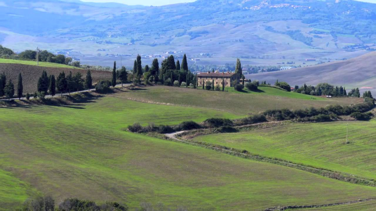 Montalcino  Scenic drives Italy 2014  YouTube