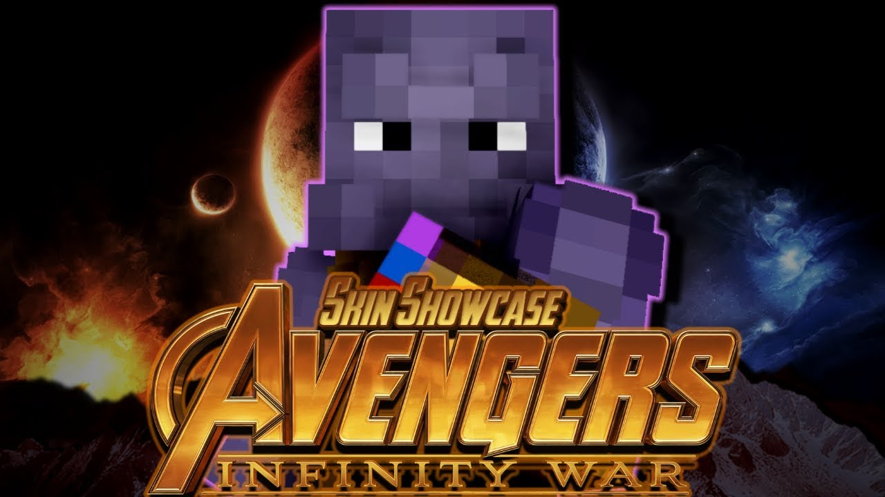 Avengers Infinity War Minecraft Skin pack Release - DOWNLOAD
