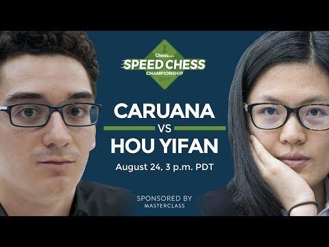 Speed Chess Championship: Fabiano Caruana Vs Hou Yifan