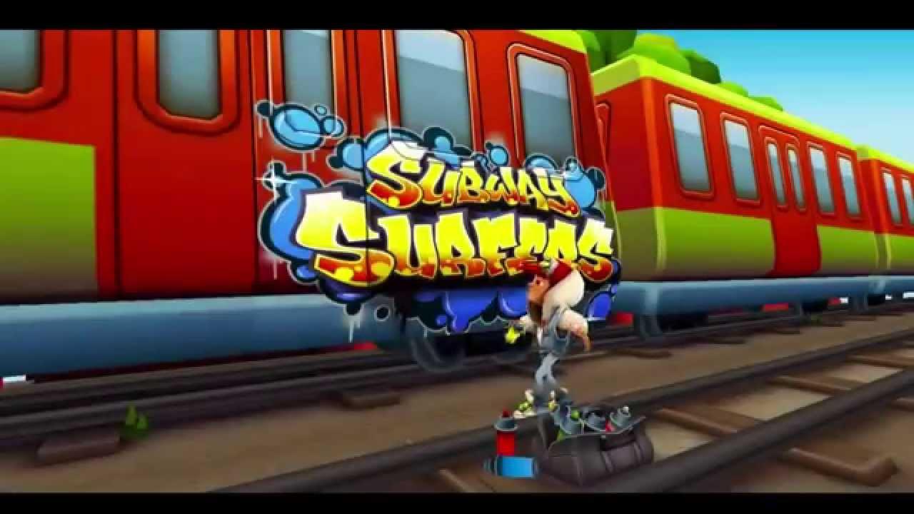 Сабвей серф играть поезд