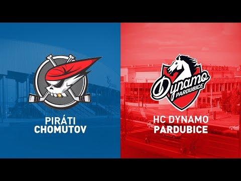 4. Kolo O Pohár DHL: Piráti Chomutov Vs HC Dynamo Pardubice