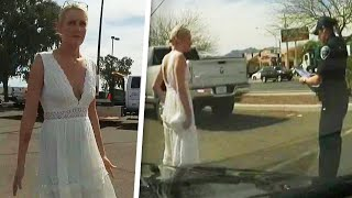 Woman Pulled Over by Cops Says She Was on Way to Get Married