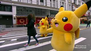 Verizon's stream of tнe 2020 Macy's Thanksgiving Day Parade features bewildering Pikachu segment