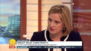 Amber Rudd on Brexit Talks | Good Morning Britain