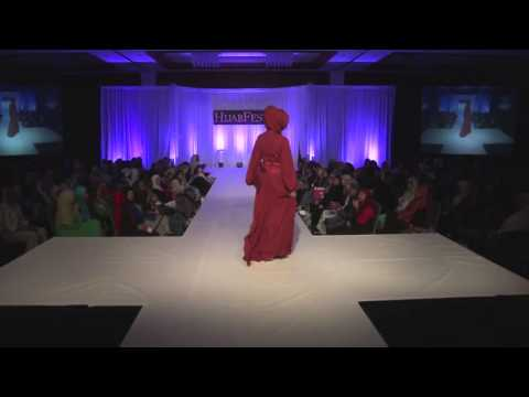 HijabFest 2014 Nzinga Knight Fashion Show