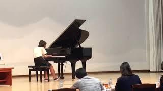 김예린 센텀초6학년 동백콩쿨대상