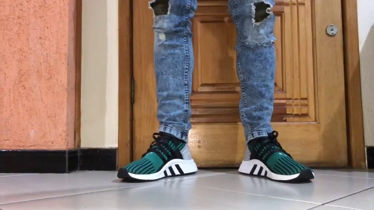 great deals 2017 promo codes new arrive ADIDAS EQT SUPPORT MID ADV PK ON FEET - YouTube