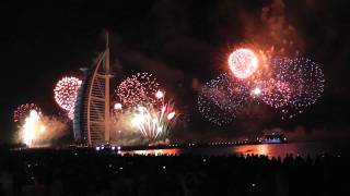 (HD) 2011 Happy New Year for Everyone - Fireworks Dubai UAE [HD 1080p]