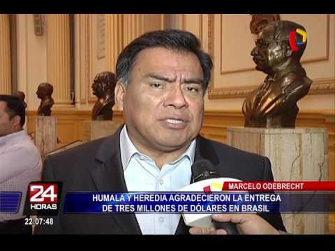 Odebrecht: así agradecieron Ollanta Humala y Nadine Heredia entrega de US$3 millones