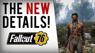 FALLOUT 76 HUGE INFO - No More Concerns? Stealth, Nukes, World Map, Beta, Vaults & More!