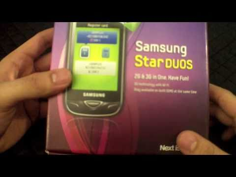 Samsung Star Duos 3g, Dual Sim 3G Phone Unboxing Video- IGyaan.in , New Delhi