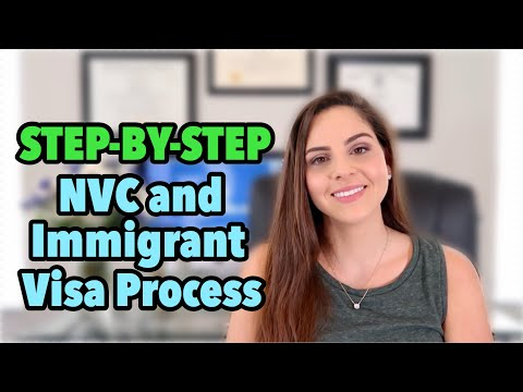How To Apply For Immigrant Visa At US Embassy | Consular Processing Explained | National Visa Center