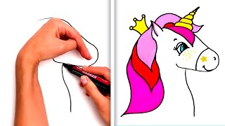 36 EASY YET SATISFYING DRAWING TRICKS ANYONE CAN DO