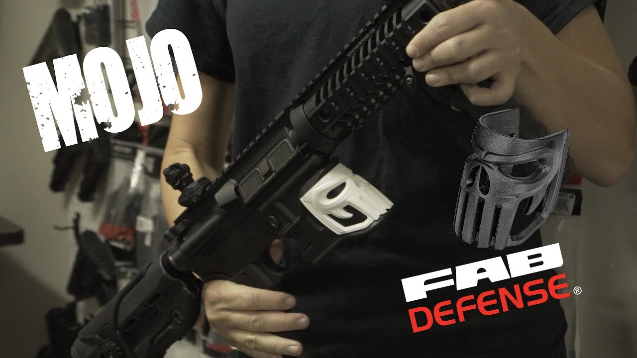 The MOJO (Improved Mag-Well Grip from FAB Defense) - YouTube a465daa0c