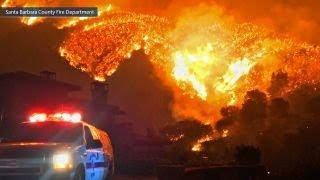 Wildfires in southern California now 25 percent contained