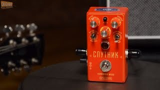 Spaceman Sputnik Germanium Fuzz Pedal Red Edition