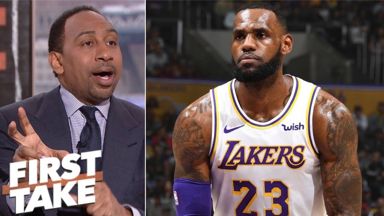 d84c1d02aef Stephen A.: LeBron is doing what he has to for the Lakers | First Take