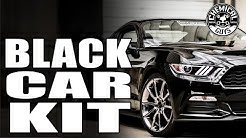 Basic Black Car Detail - Mustang Shelby GT350 - Chemical Guys Black Car Care Kit