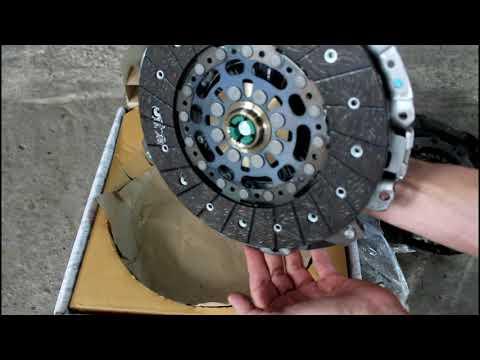 Замена сцепления на SsangYong Actyon 2,0 4WD  СсангЙонг Актион 2012 года  3часть