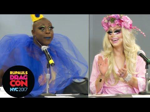 UNHhhh Panel w/ Trixie Mattel, Bob the Drag Queen & Katya at RuPaul's DragCon NYC 2017