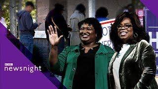 Mid-terms 2018: Accusations in Georgia - BBC Newsnight