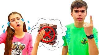Regras de conduta de Nastya e Mia para crian - profissões para crianças