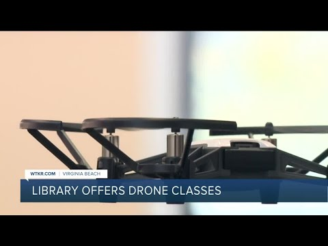 Virginia Beach libraries plan to offer drone classes