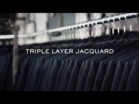 triple layer jacquard