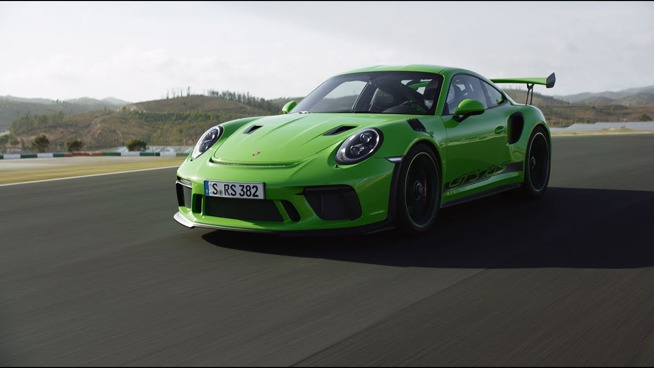 new 2018 porsche 911 gt3 rs is a serious 520 hp sports machine. Black Bedroom Furniture Sets. Home Design Ideas