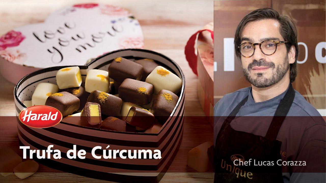 Trufa de Cúrcuma - Lucas Corazza