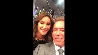 Arnold Schwarzenegger with Caitlyn Jenner - Snapchat Story (03.03.2016.)