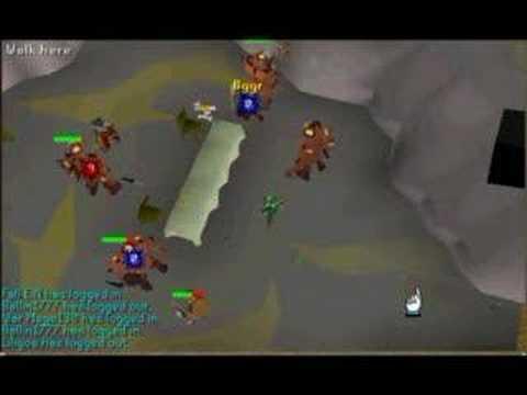 Runescape Ranging fire giants