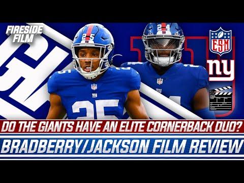 Do The New York Giants Have An ELITE Cornerback Duo?   James Bradberry, Adoree Jackson Film Review