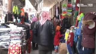 Рынок в Алеппо возобновил работу