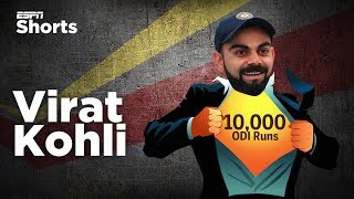 Why Kohli's journey to 10,000 is special