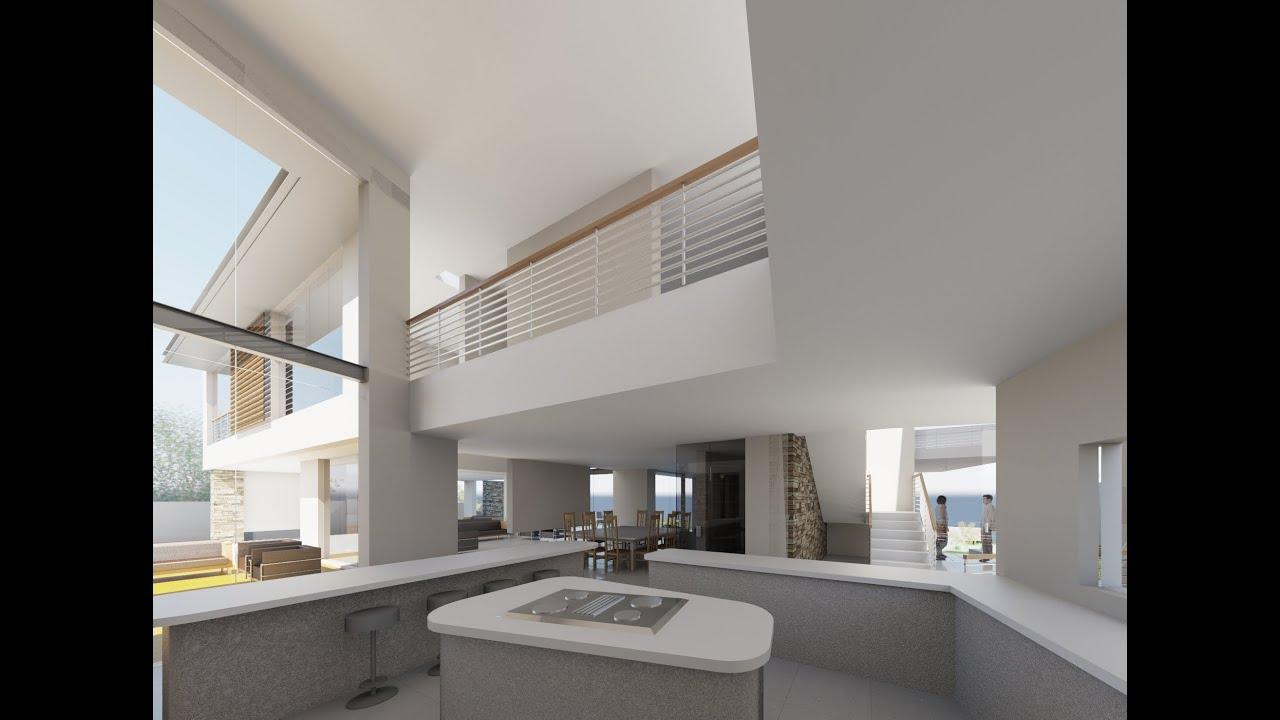 Revit Showcase Animation  House Design  Plans see the