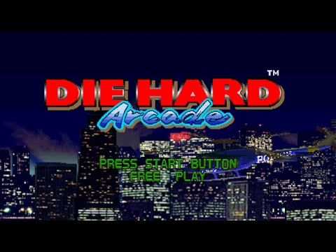 Die Hard Arcade Playthrough MAME [1080p] [NVIDIA Shadowplay]