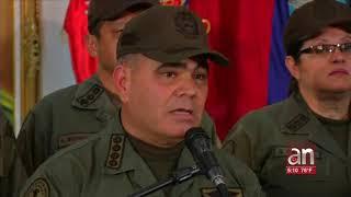 Alto mando militar del régimen de Maduro rechazó mensaje del presidente Trump