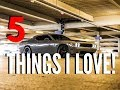 Dodge Challenger Scatpack 5 things I LOVE!!
