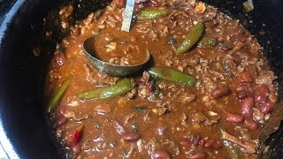 Cast Iron Chili With Beans