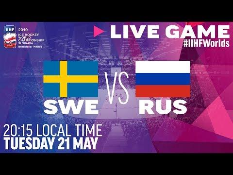 Sweden Vs. Russia | Full Game | 2019 IIHF Ice Hockey World Championship