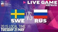 Sweden vs. Russia   Full Game   2019 IIHF Ice Hockey World Championship