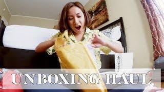 Unboxing Haul in LA | Laureen Uy
