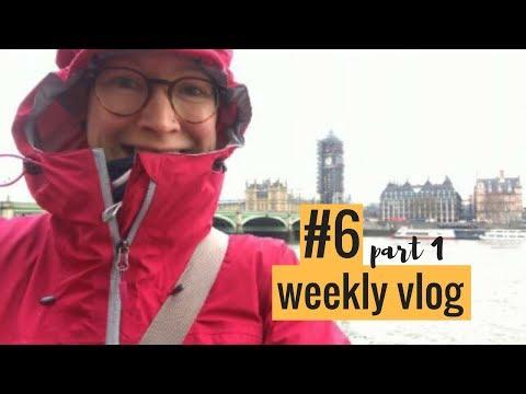 Weekly Vlog 6 (part 1) |  London, Missing Bags, Hotel Upgrades, New glasses & beer!